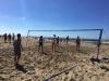 Beach volley-tennis
