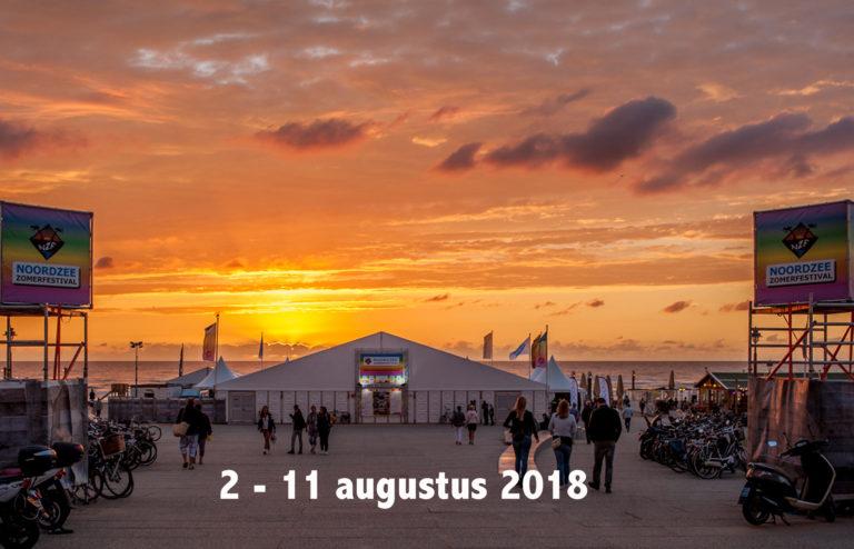 Noordzee Zomerfestival 2018 blikt vooruit